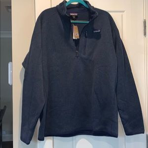 """NWT Patagonia """"M's Better"""" 1/4 Zip Sweater"""